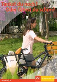 VSF Plakataktion Radfahren