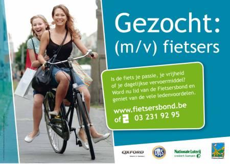 Werbung Fietsersbond Belgien