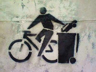 Fahrradstencil