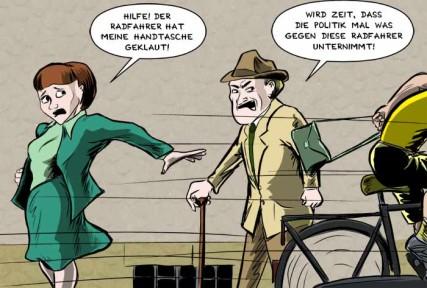 Max Vähling: Radfahrer
