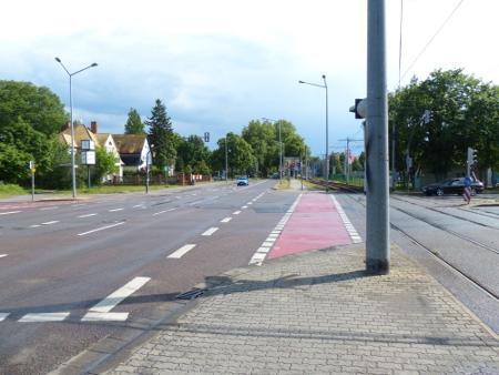 Dessau-Roßlau: Vergessene Ampel