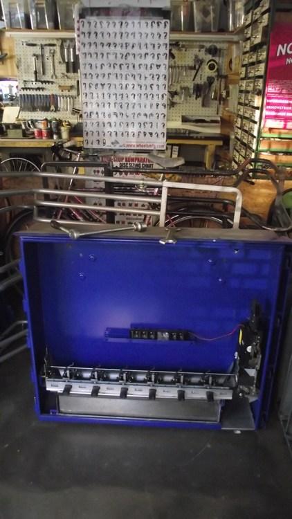 Schlauchomat abgebaut in Werkstatt