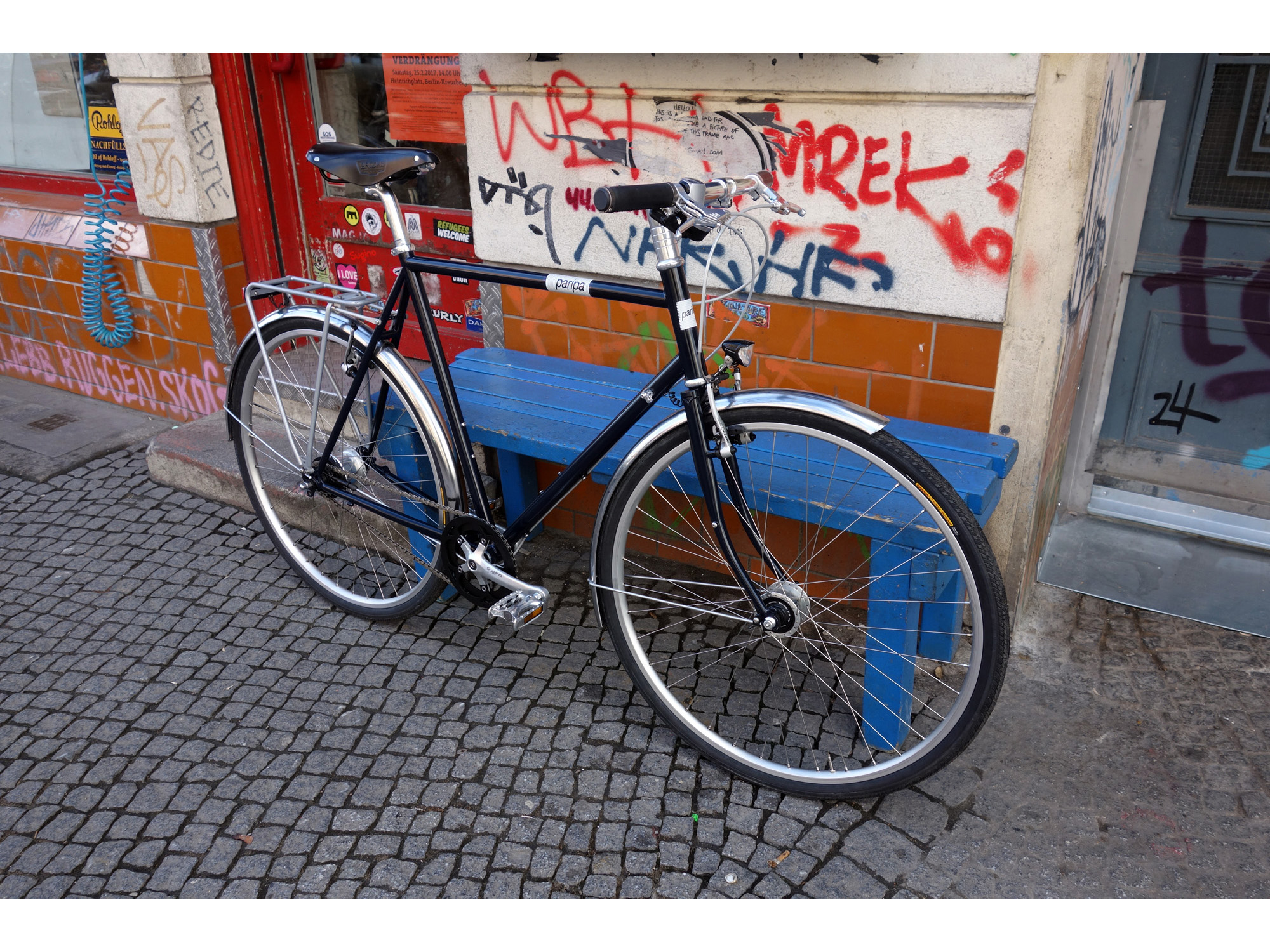Fahrradrahmen Paripa JWD – Radspannerei
