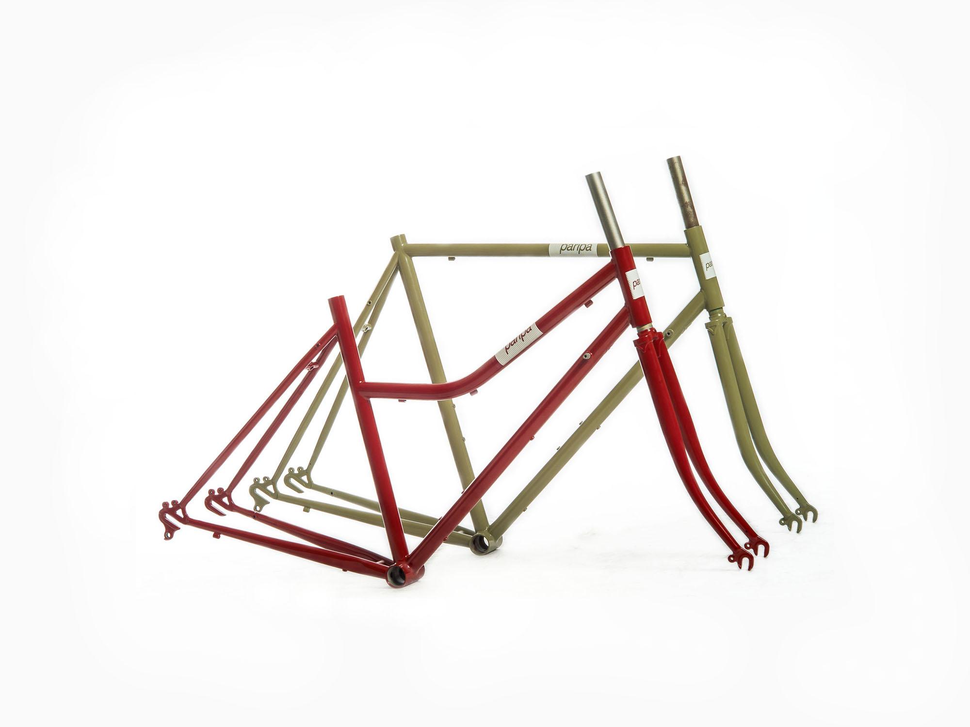 Fahrradrahmen Paripa Sport – Radspannerei