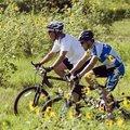 Lance Armstrong und George W. Bush