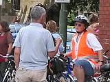Fahrrad Demonstration in Lichtenberg