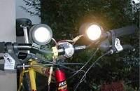 Fahrradlampe Eigenbau