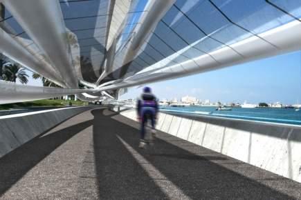 Fahrradweg Qatar