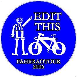 Edit this Fahrradtour